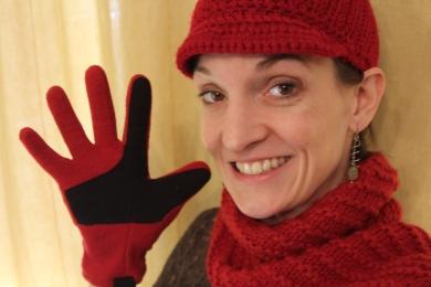 Hat Scarf Gloves Smile