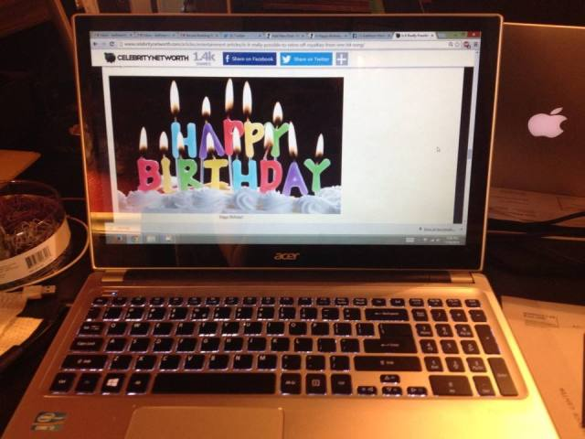 website birthday