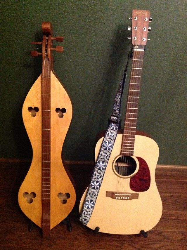 dulcimer and guitar