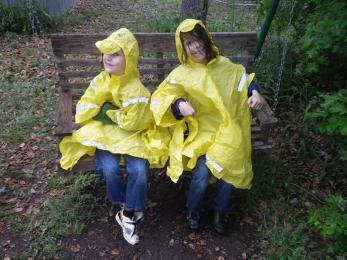 soggy ponchos